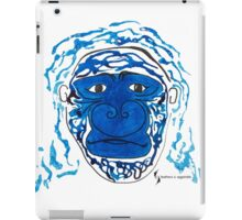 Gorilla © feathers & eggshells - wild new things are born iPad Case/Skin