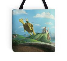 Flight of the Golden Turtle Tote Bag