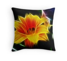 Fractal Frenzy Throw Pillow