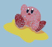 Kirby Bits Kids Tee