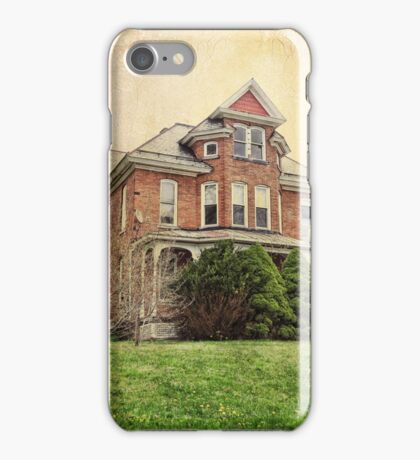 Home town mansion iPhone Case/Skin
