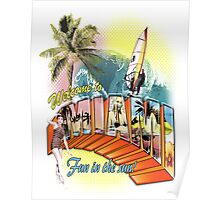 welcome to miami Poster