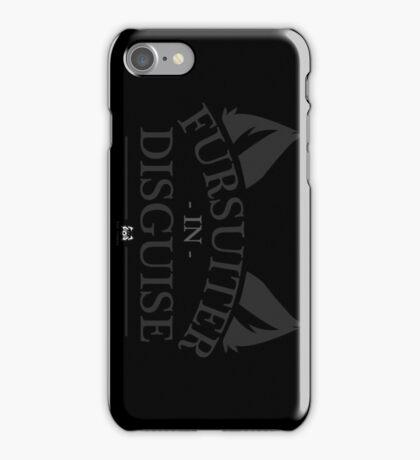Fursuiter in Disguise iPhone Case/Skin