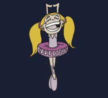 Happy Ballerina One Piece - Long Sleeve