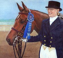 Arabian Show Hack Class Winner Portrait by Oldetimemercan