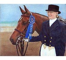 Arabian Show Hack Class Winner Portrait Photographic Print