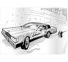 Brooklyn Cadillac Poster