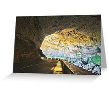 Grotte du Mas d'Azil Greeting Card