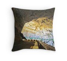 Grotte du Mas d'Azil Throw Pillow