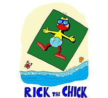 """Rick the chick """"SUMMER DAYS"""" Photographic Print"""