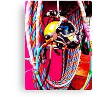Commercial Diving Kirby Morgan Canvas Print