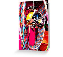 Commercial Diving Kirby Morgan Greeting Card