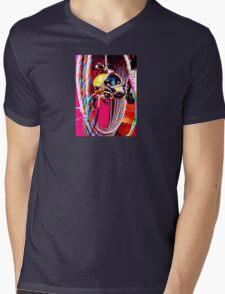 Commercial Diving Kirby Morgan Mens V-Neck T-Shirt