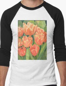Citrus Tulips  Men's Baseball ¾ T-Shirt