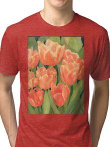 Citrus Tulips  Tri-blend T-Shirt