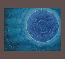 Blue World original painting Kids Clothes