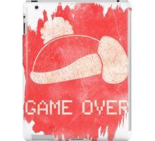 Game Over King DeDeDe iPad Case/Skin
