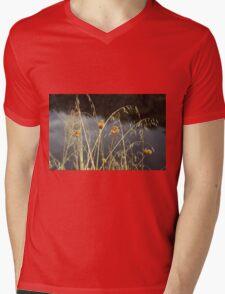 Grass Mens V-Neck T-Shirt