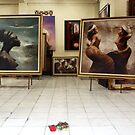 Art Gallery, Ubud, Bali by JonathaninBali