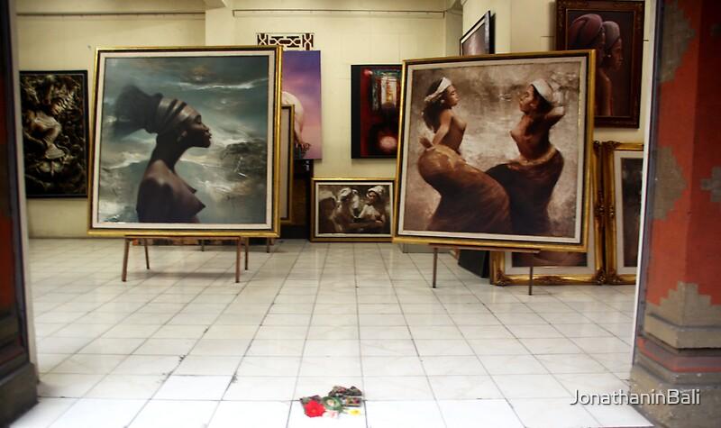 Quot Art Gallery Ubud Bali Quot By Jonathaninbali Redbubble