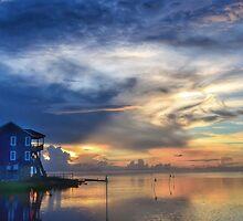 Pamlico Sunset OBX NORTH CAROLINA by CaptureLight