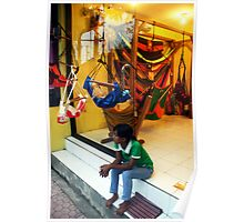 Hammock Shop, Ubud, Bali Poster
