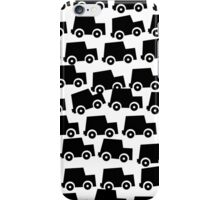 Black and White Cars iPhone Case/Skin