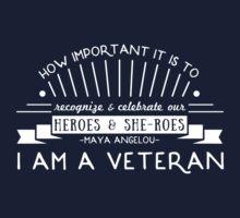 I Am A Veteran by DajonSmiles