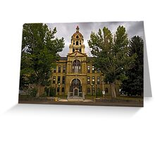 Deer Lodge County Court House Greeting Card
