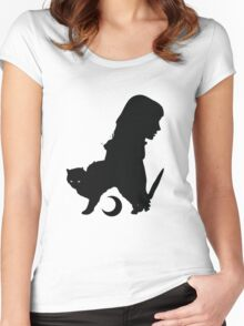Killer Pussy Women's Fitted Scoop T-Shirt