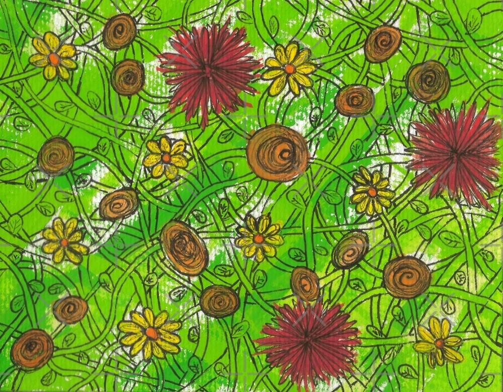 Hothouse Flowers by Kellyanne
