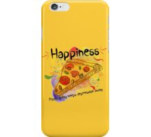 Pizza a day keeps depression away iPhone Case/Skin