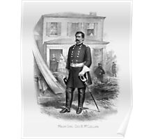 General George McClellan -- Civil War Poster