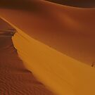 Windblown sunset - Erg Chebbi by citrineblue