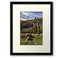 Meldon Reservoir, Dartmoor National Park, Devon Framed Print