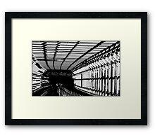 future rail Framed Print