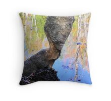 Beavers LOVE Trees! Throw Pillow