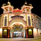 Luna Park, Melbourne by Stuart Robertson Reynolds