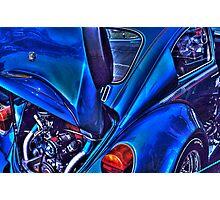 Blue Beetle Photographic Print