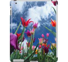 Multi color Tulips iPad Case/Skin