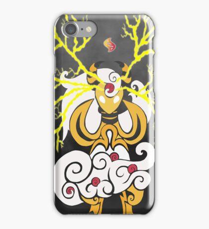 Tribalish Mega Ampharos - Eye of the Storm iPhone Case/Skin