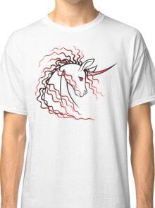 Ki-Rin (Japanese Unicorn) - Red Classic T-Shirt