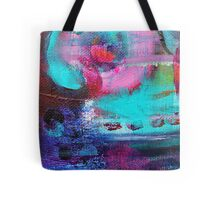 Colour Burst Original Art Reproduction by Tanya Cole Tote Bag