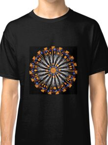 Orange and blue abstract Classic T-Shirt