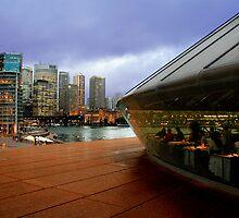 Guillaume at Bennelong, Sydney Opera House, Australia. by Stuart Robertson Reynolds