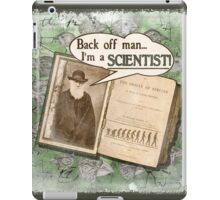 Popular Science: Charles Darwin (distressed) iPad Case/Skin