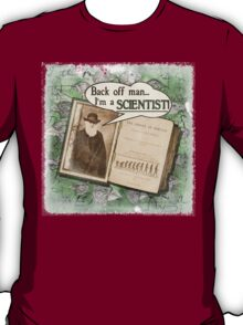 Popular Science: Charles Darwin (distressed) T-Shirt