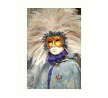 Venice - Carnival  Mask Series 06 Art Print