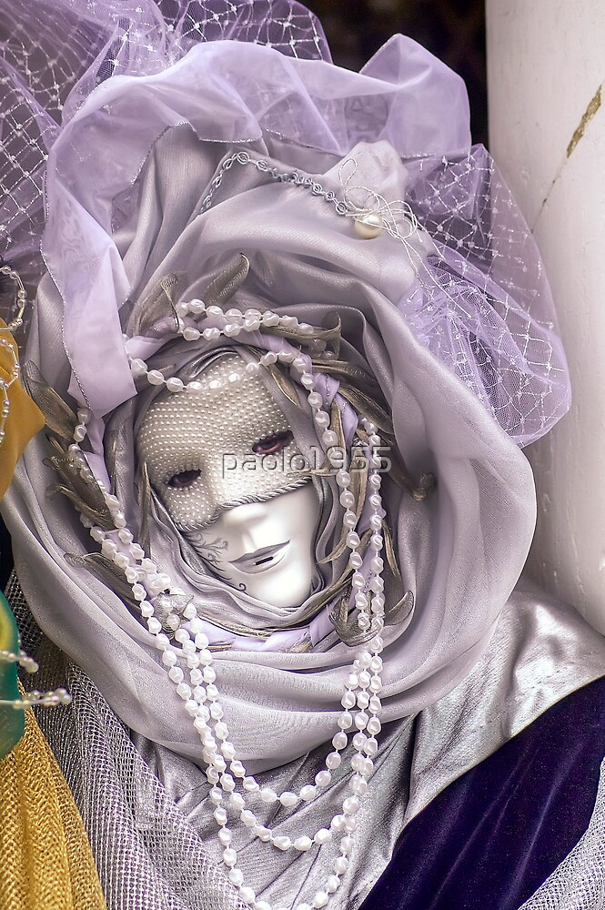 Venice - Carnival  Mask Series 07 by paolo1955