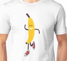 Awesome Running Banana Unisex T-Shirt